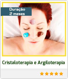 Cristaloterapia e Argiloterapia