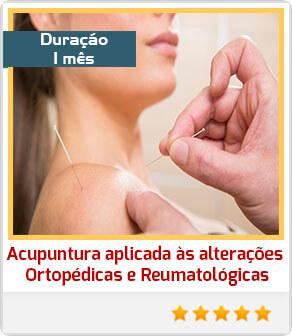 Acupuntura aplicada às alterações ortopédicas e reumatológicas
