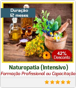 Formação Livre em Naturopatia - Terapeuta Holístico